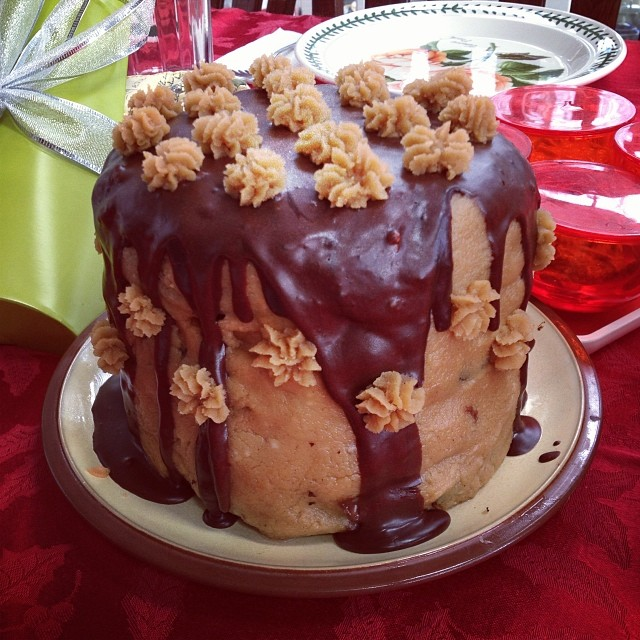 Amazing Peanut Butter & Chocolate Cake
