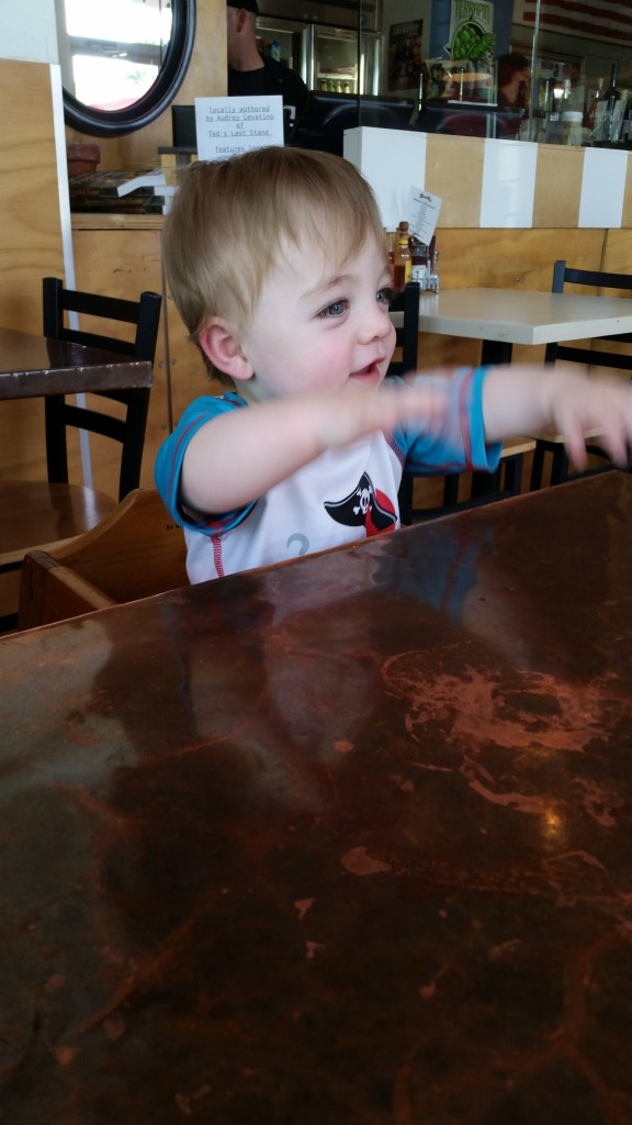 Carter excited for brunch at Beer Run