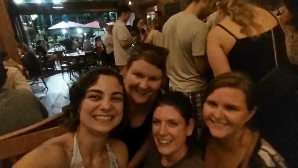 Some of the ladies and I at The Whiskey Jar